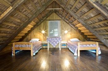 Saunahouse room